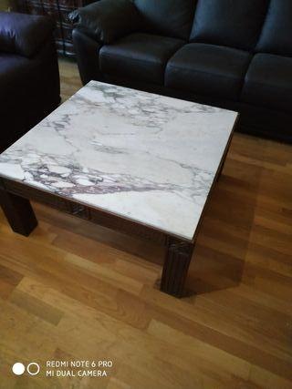 Mesa de salon marmol