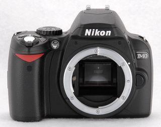 cuerpo cámara réflex digital nikon D40