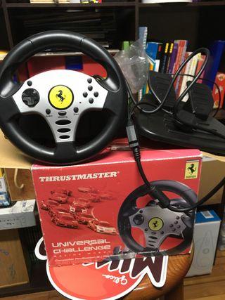 mini volante thrustmaster