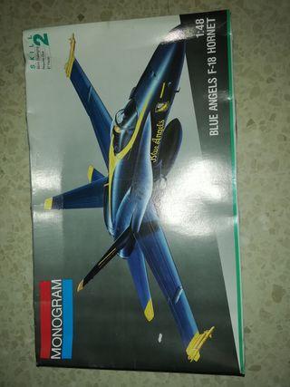 Maqueta F-18