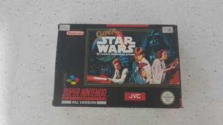 SUPER STAR WARS SNES SUPER NINTENDO