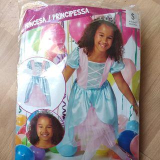 Vestido disfraz princesa