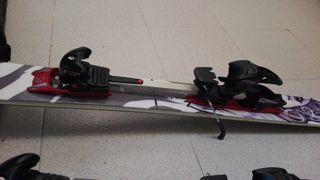 ski Zag H112 + fijación diamir freeride + focas