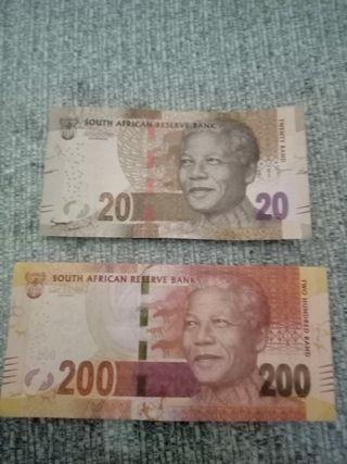 varios billetes del mundo nuevos