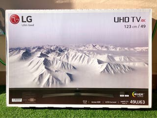 """TV LG 49"""" UHD y 4K"""