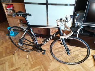 Bicicleta Scott carretera