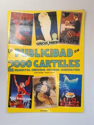 La publicidad en 2000 carteles.