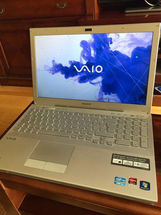 Ordenador portátil Sony VAIO.