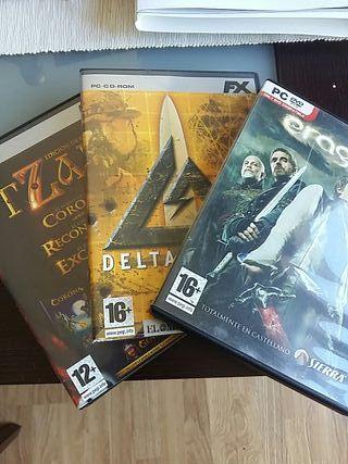 Eragon, Tzar, Delta Force 2. Todos 2 euros.