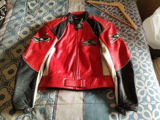 traje moto 2 piezas