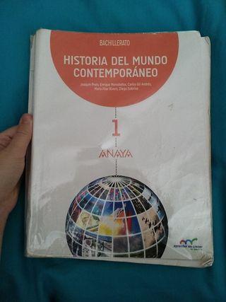 LIBRO 1° BACH HISTORIA DEL MUNDO CONTEMPORÁNEO
