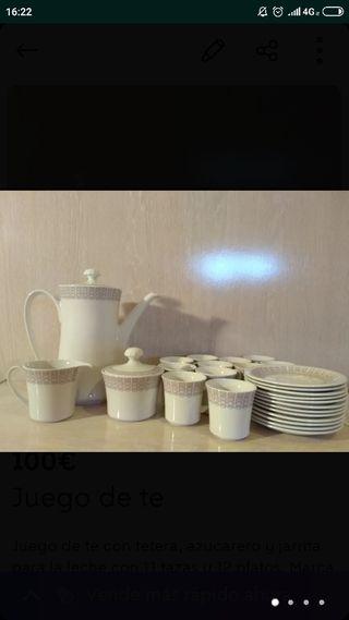 Vajilla de te/café
