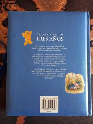 """Libro """"Un tesoro para los tres años"""" PARRAGON"""