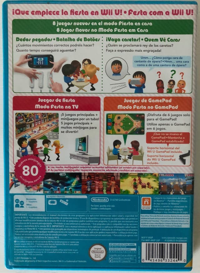 Juego Wii Party U para Nintendo Wii U