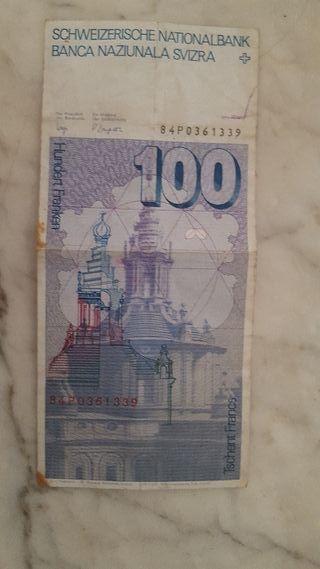 100 Francos Suizos