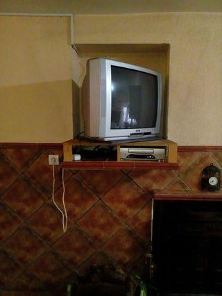 TV 32'' tubo + soporte giratorio