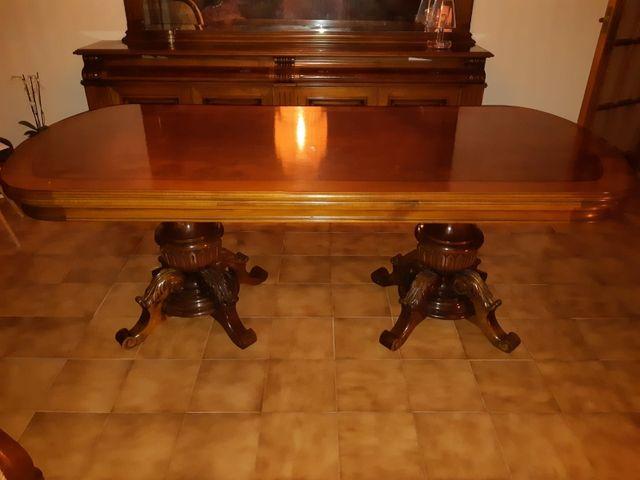 Mesa comedor antigua de madera de segunda mano por 200 € en Manacor ...
