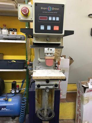 Maquina Tampografia + Insoladora de placas