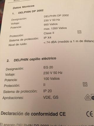 Aspirador Delphin