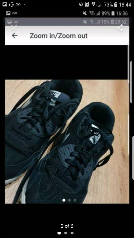 2b86c1aeb29d9 Nike air max size 9 second hand for £25 in Bolton in WALLAPOP