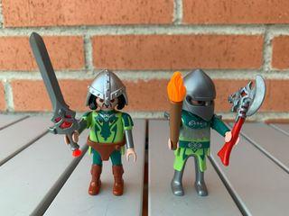 Playmobil soldados medienvales
