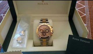 f46f975f168 Reloj Rolex Daytona de acero y Oro muy exclusivo