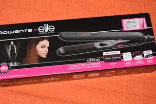 Plancha para el pelo marca Rowenta for elite