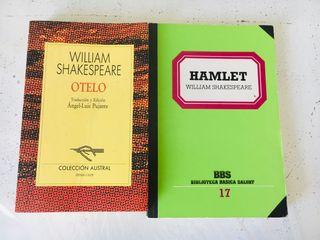Libros William Shakespeare.