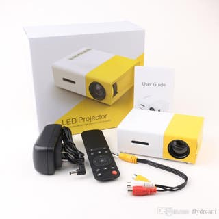 Mini-proyector peliculas EXCELVAN YG300