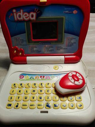 ordenador portátil de niño