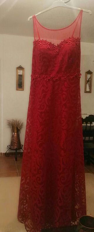vestido largo boda, fiesta,precio algo negociable