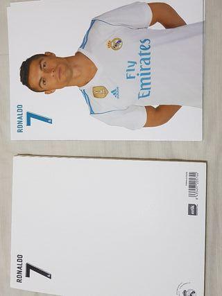 postal nueva del Real Madrid cf