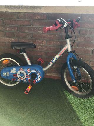 Bicicleta niño de 3-5 años