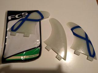 Quillas surf FCS M5