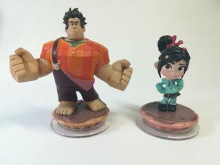 Disney infinity Rompe Ralph y Vanellope