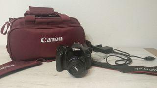Canon 600D + objetivo 50mm f1, 8