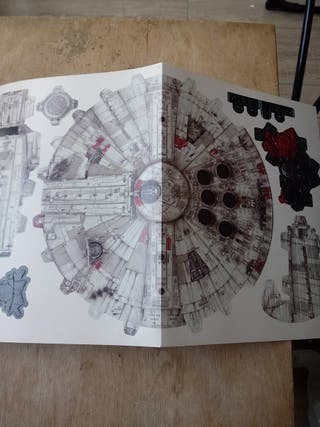 Star Wars naves libro