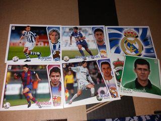 Cromos de Fútbol 2004/2005