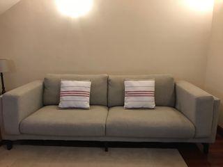 sofá Nockeby Ikea 3 plazas