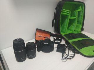 Canon 700d+Objetivos