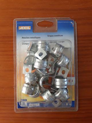 Grapas metálicas 22 mm.