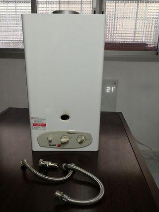 calentador de agua Fagor 11 lts.