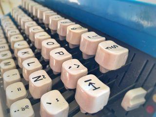 Máquina de escribir olivetti lettera 31