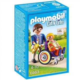 Niño en Silla de Ruedas Playmobil City Life