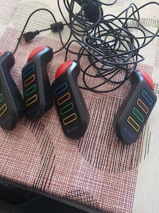 mandos buzz y mando PlayStation