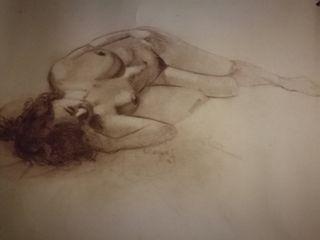 Desnudo a carboncillo (originales)