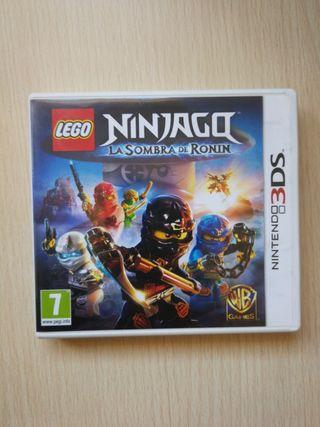 Ninjago la sombra del poder 3ds