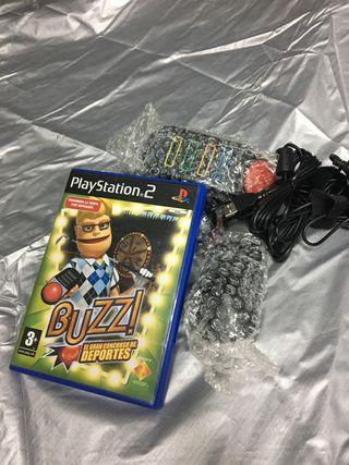 Juego buzz deportes y mandos