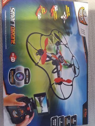 Dron con camara de fotos y video