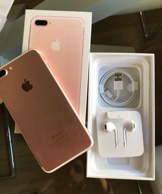 IPHONE 7 PLUS ROSA GOLD NUEVO INCLUYE GARANTIA